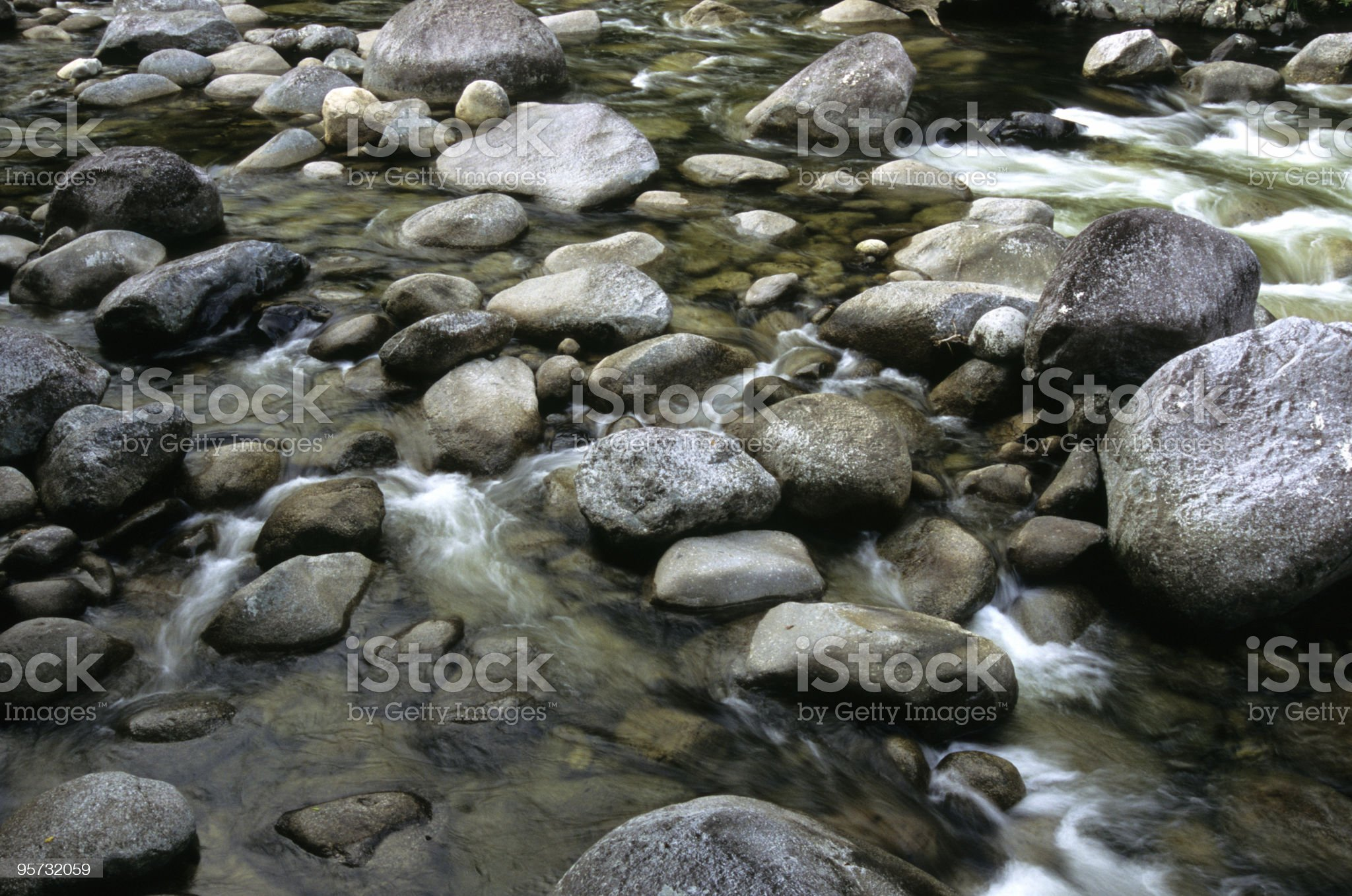 Rocky Stream Background royalty-free stock photo