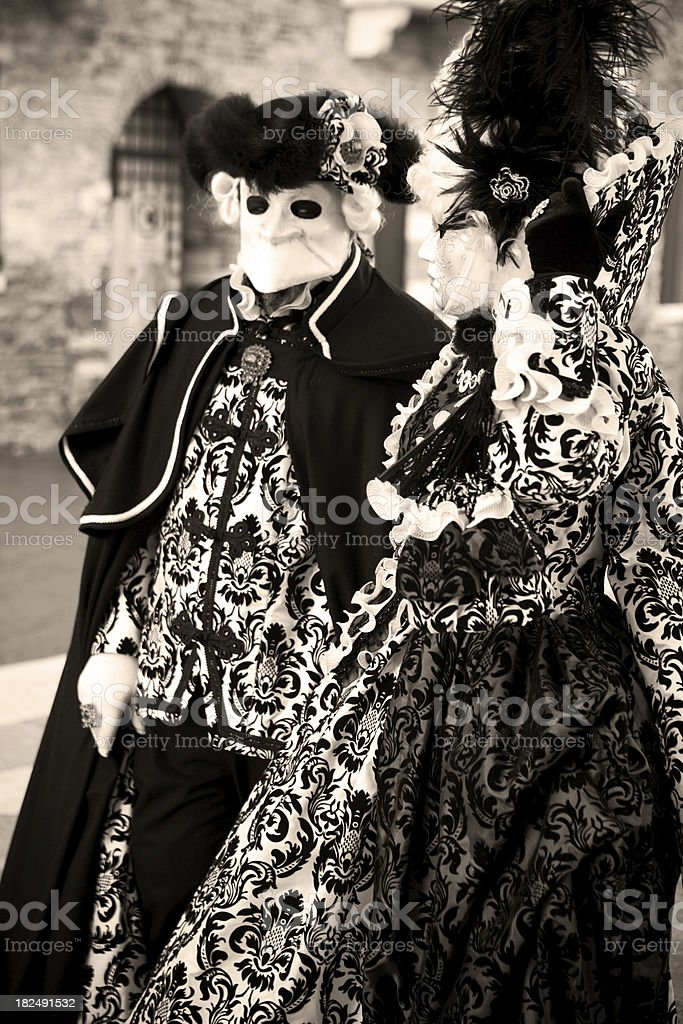 Rokoko Couple royalty-free stock photo