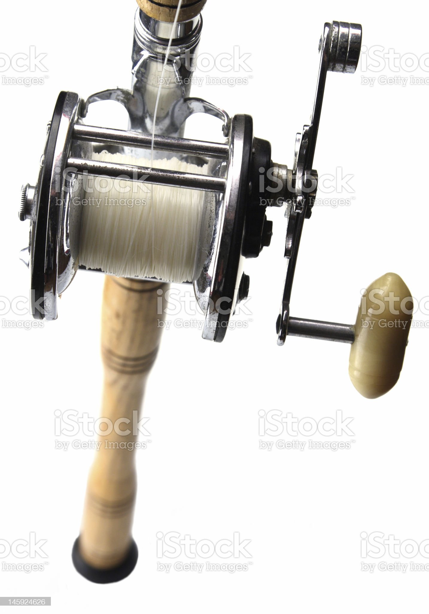 Rod and Reel royalty-free stock photo