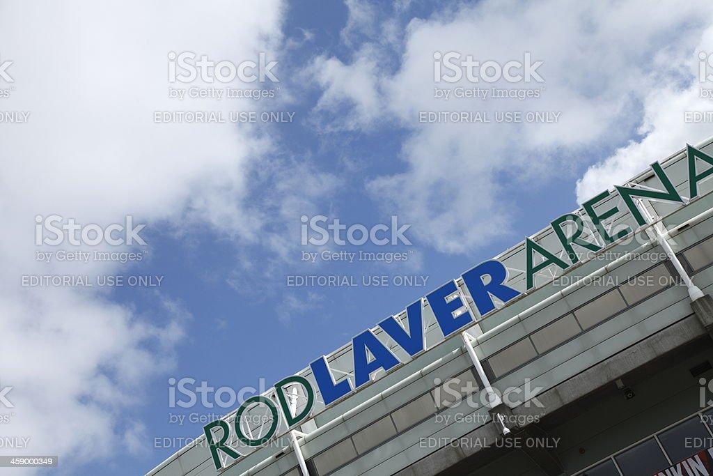 Rod Laver Arena stock photo