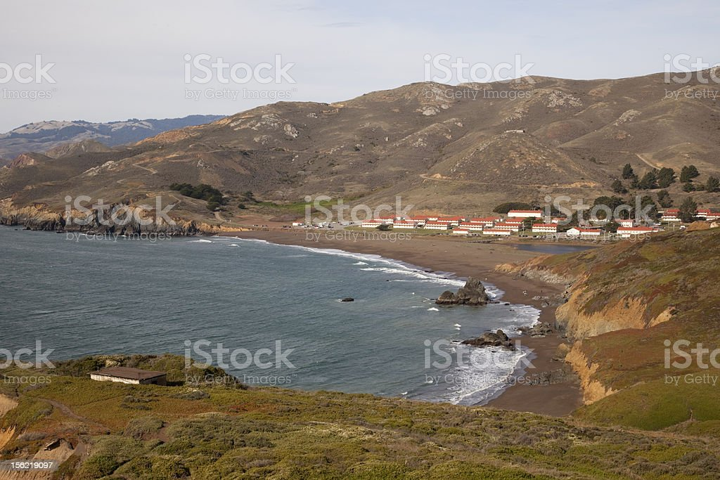 Rodeo Beach royalty-free stock photo