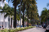 Rodeo Drive in Beverly Hills, CA