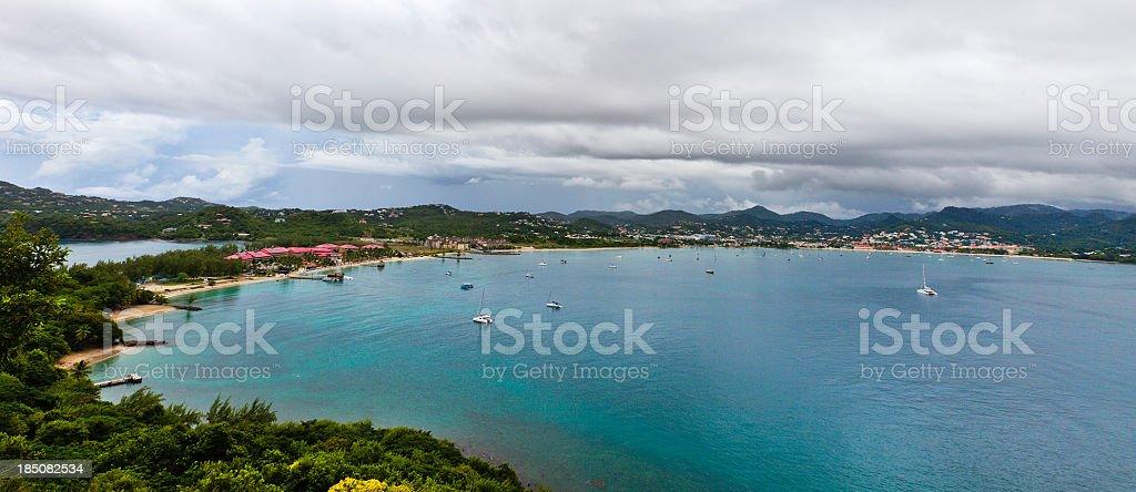 'Rodney Bay, St. Lucia' stock photo