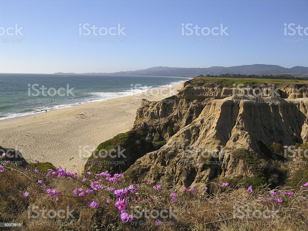 Rodondo Beach - Halfmoon Bay, California stock photo