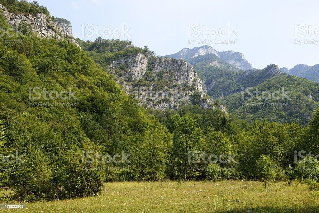 Rodopi (Rhodope) Mountains of Bulgaria stock photo
