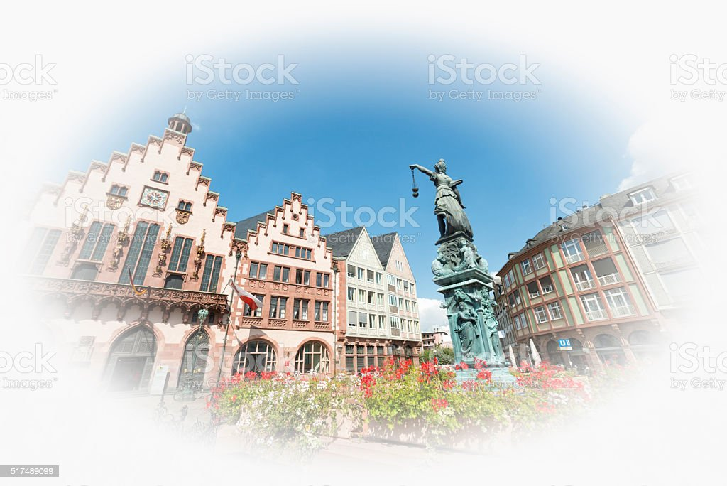 Roemer, Frankfurt am Main , Germany stock photo