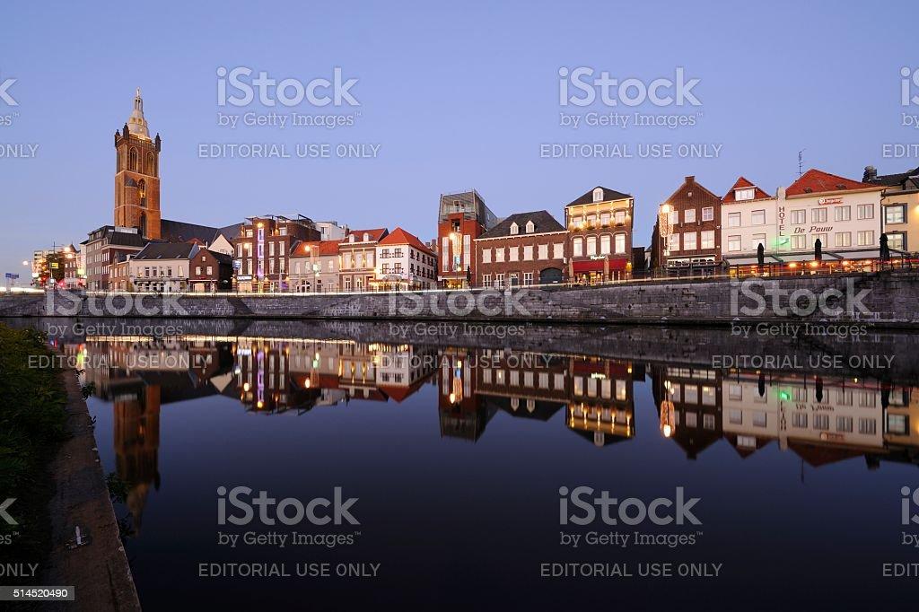 Roerkade in Roermond stock photo