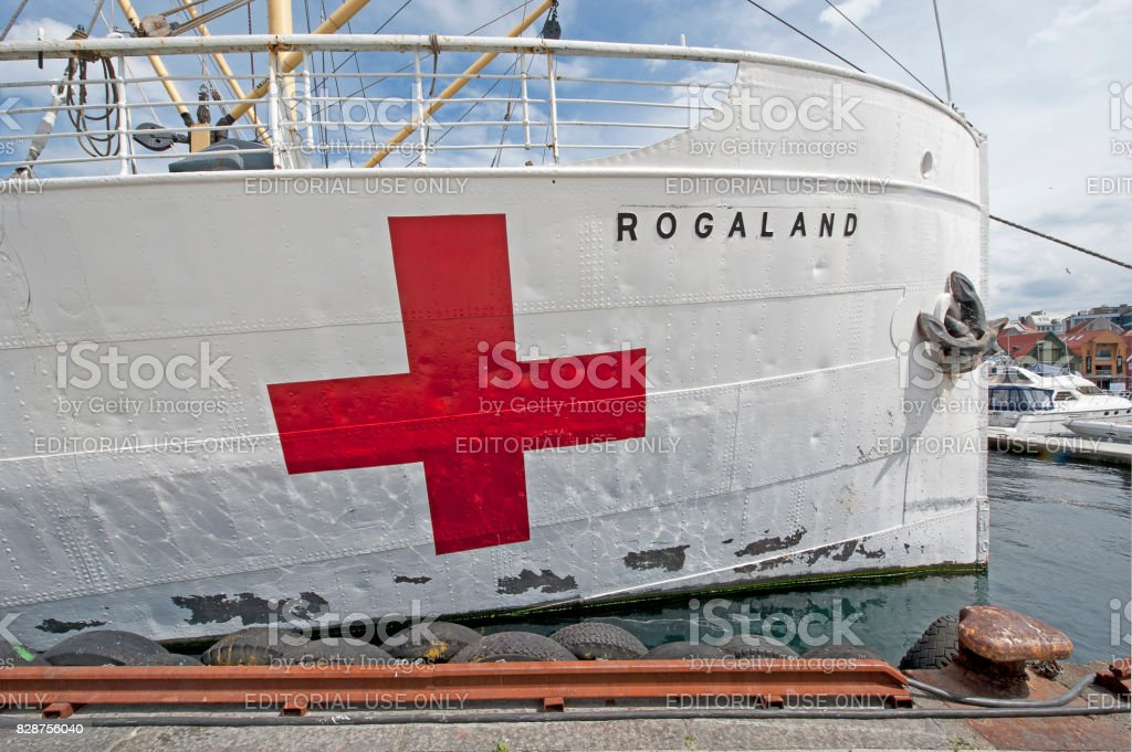Rogaland red, Stavanger, Norway stock photo