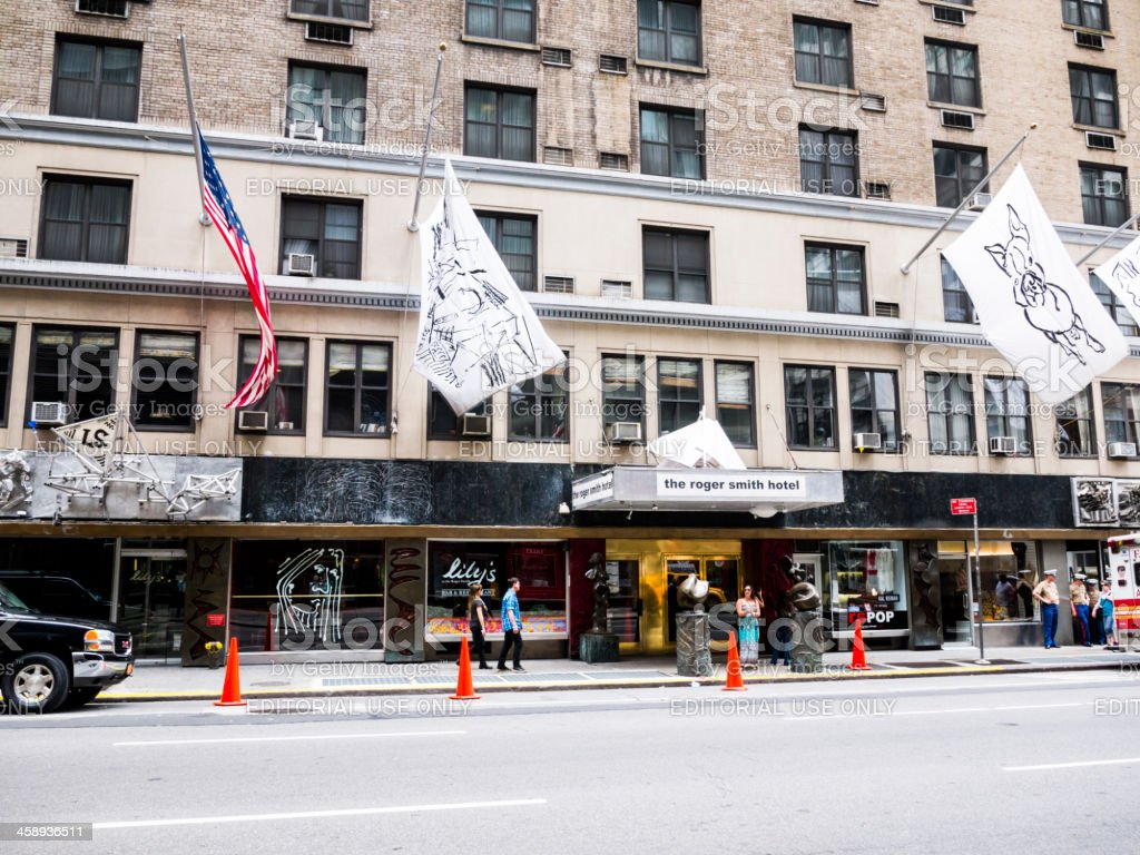 Roger Smith Hotel Manhattan royalty-free stock photo