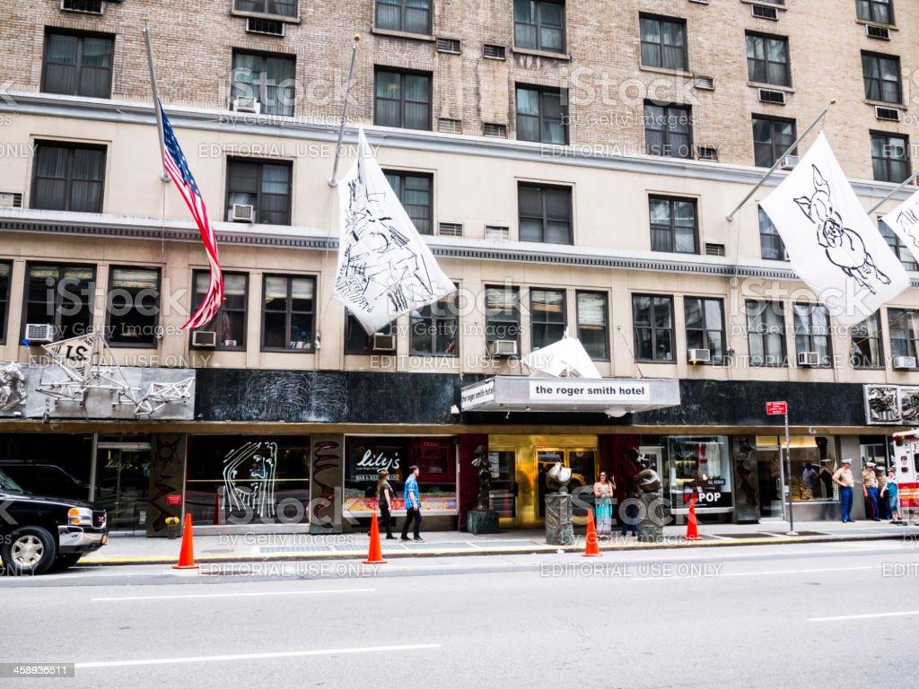 Roger Smith Hotel Manhattan stock photo