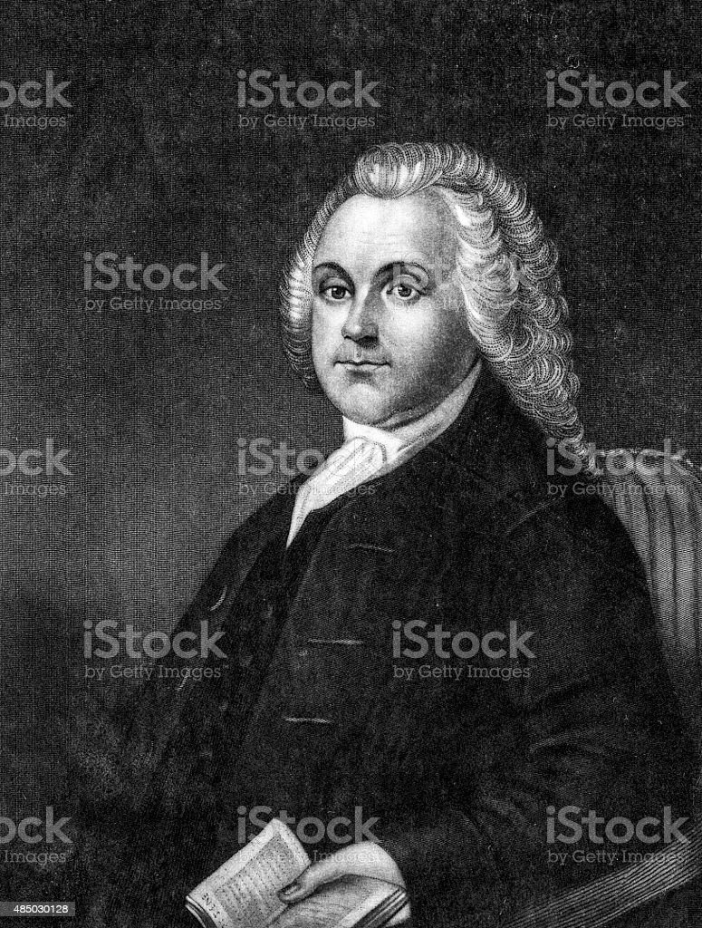 Roger Williams - English Protestant Theologian stock photo