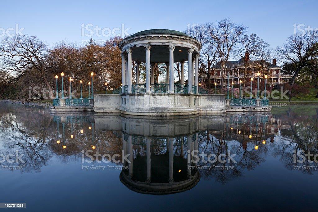 Roger Williams Park stock photo