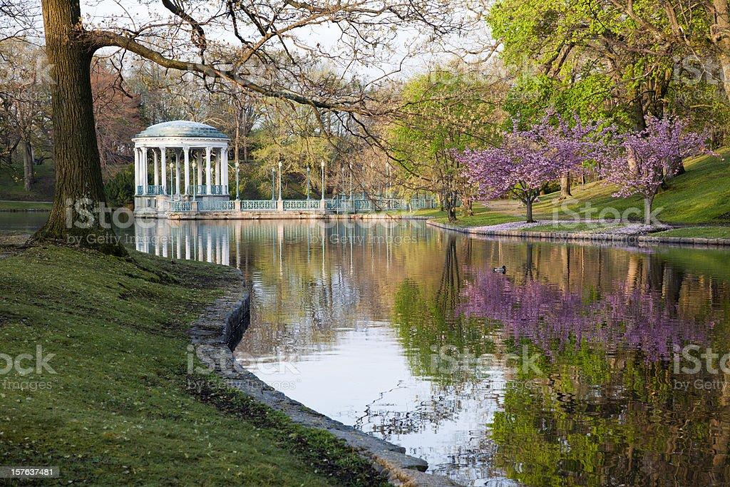 Roger Williams Park, Providence royalty-free stock photo