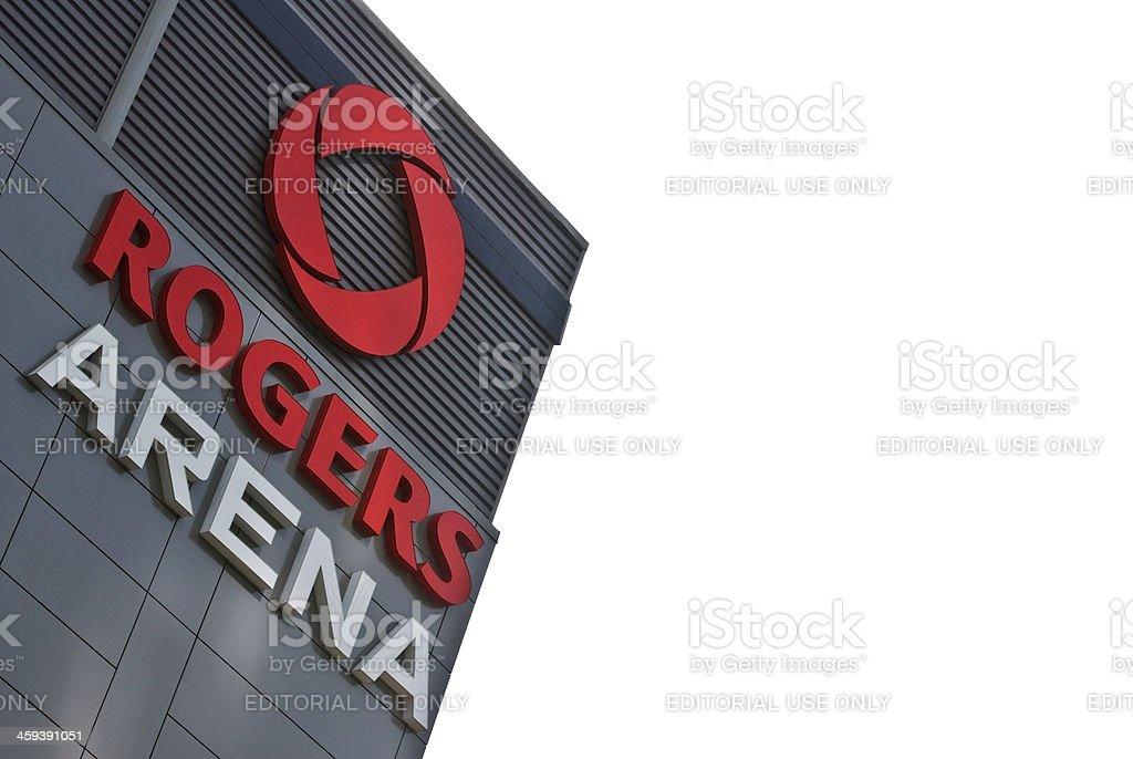 Rogers Arena stock photo