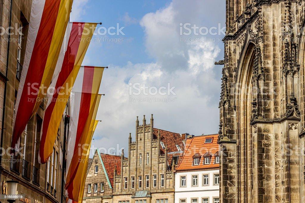 Roggenmarkt in Munster royalty-free stock photo
