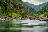 Rogue River, Dawn, Wild and Scenic Corridor, Oregon