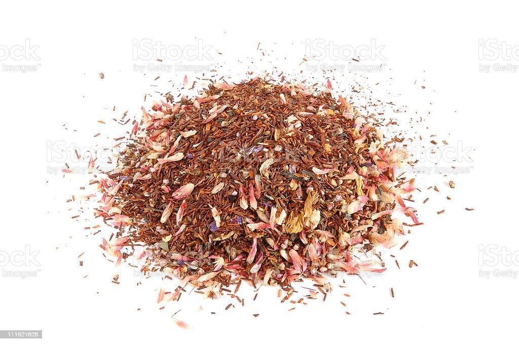 Roibos tea leaves royalty-free stock photo