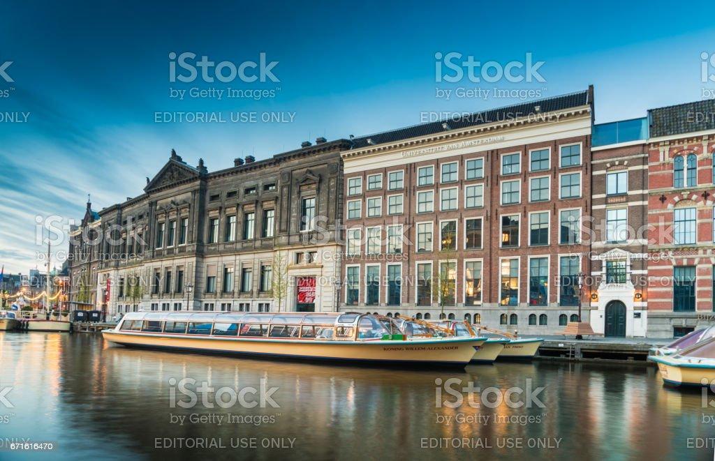 Rokin Amsterdam stock photo