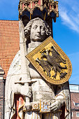 Roland Statue in Bremen, Germany