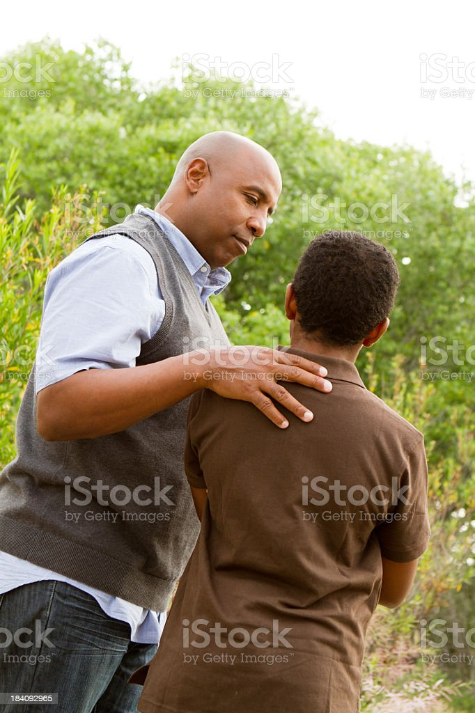 Role model royalty-free stock photo