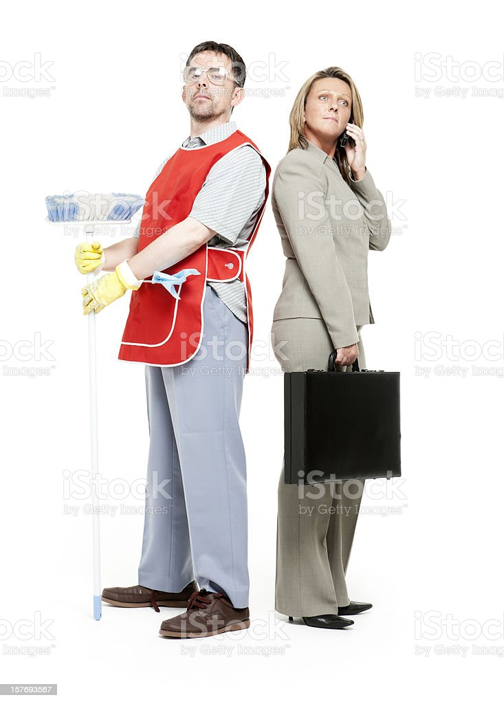 role reversal royalty-free stock photo
