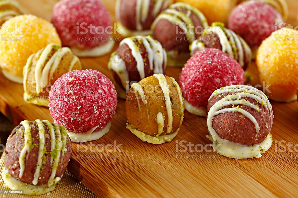 roll cake stock photo