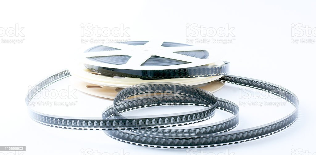 roll of 16 mm film royalty-free stock photo