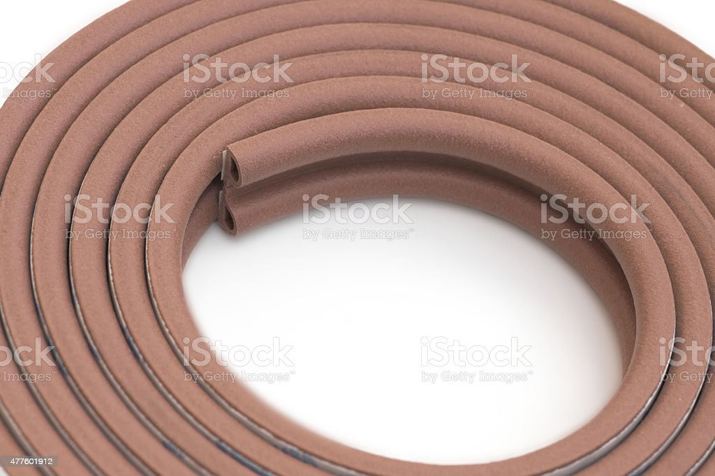Roll of bumper stock photo