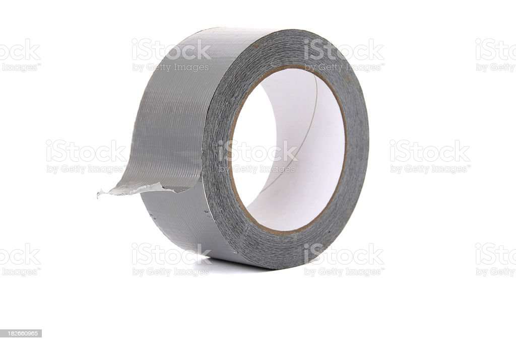 Roll of Duct Tape stock photo