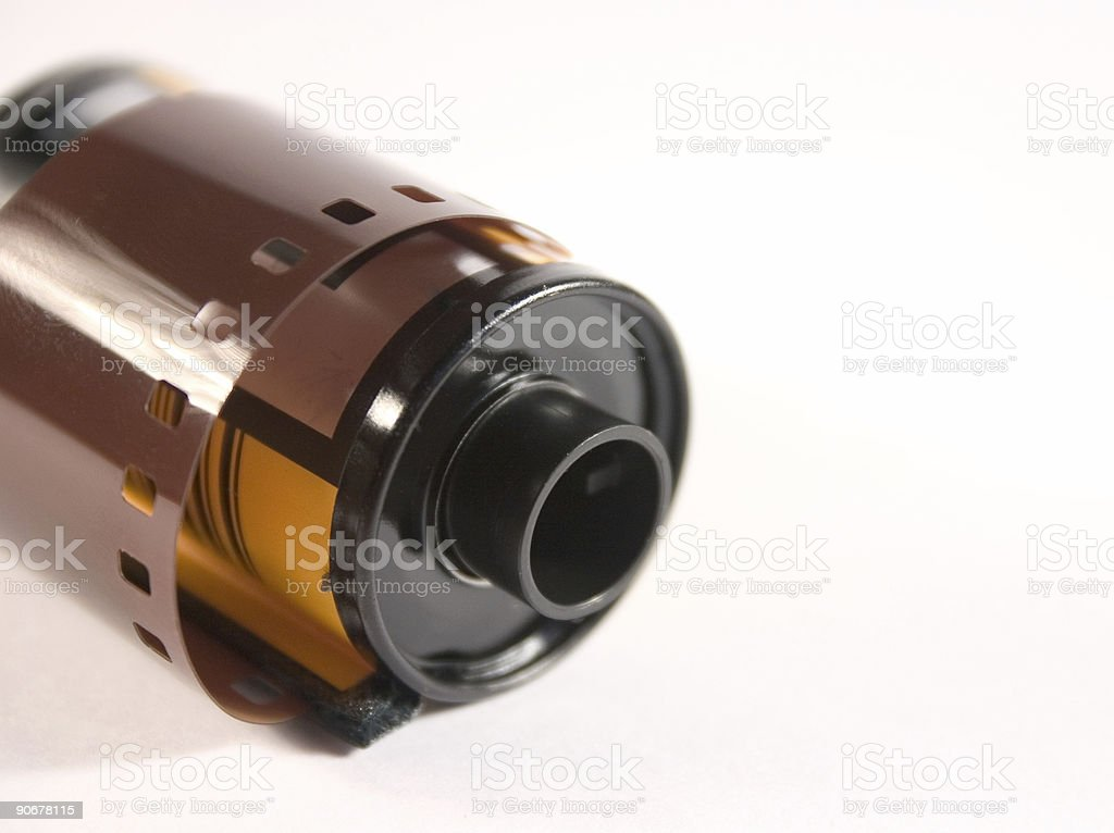 Roll of film royalty-free stock photo