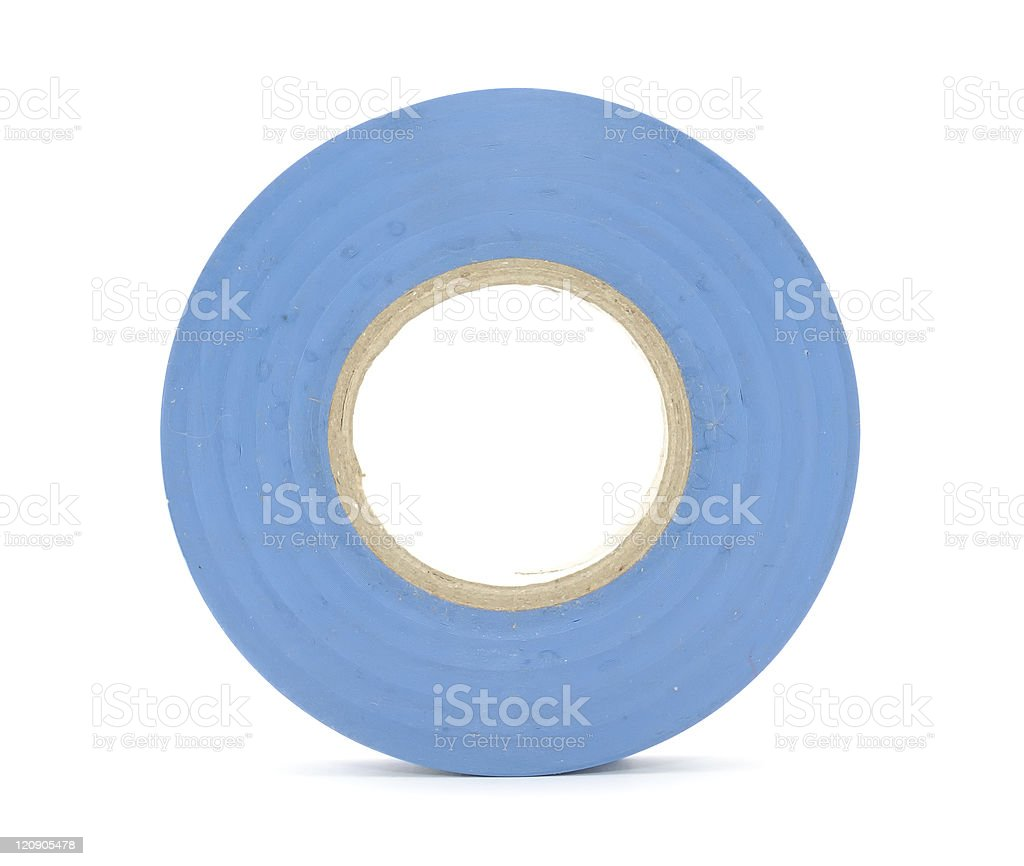 Roll of Insulating (Electrical) Tape stock photo