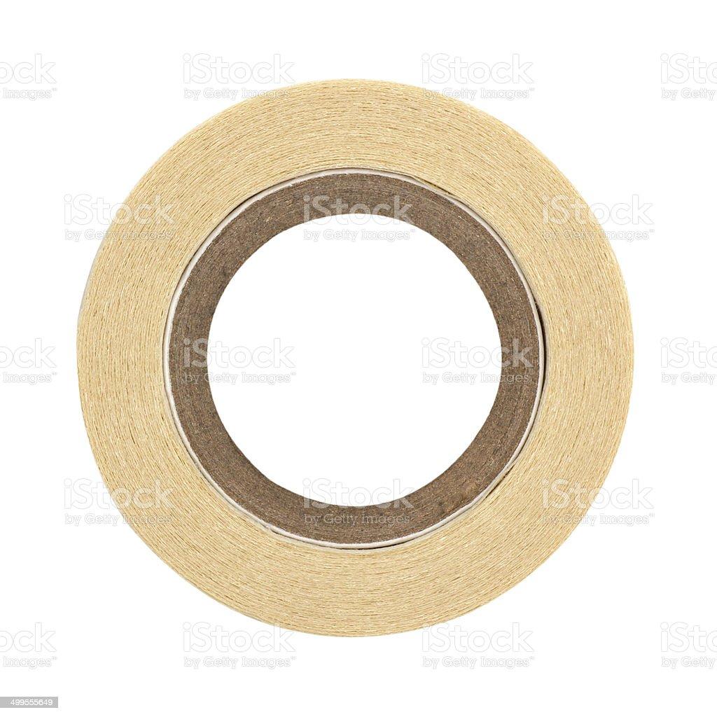 roll of masking tape on white stock photo