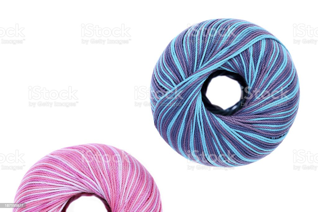 roll of sewing thread royalty-free stock photo