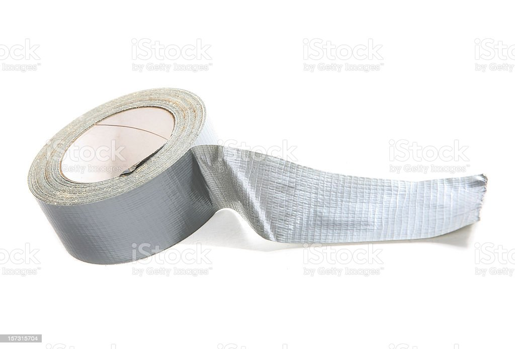 Roll of tape stock photo