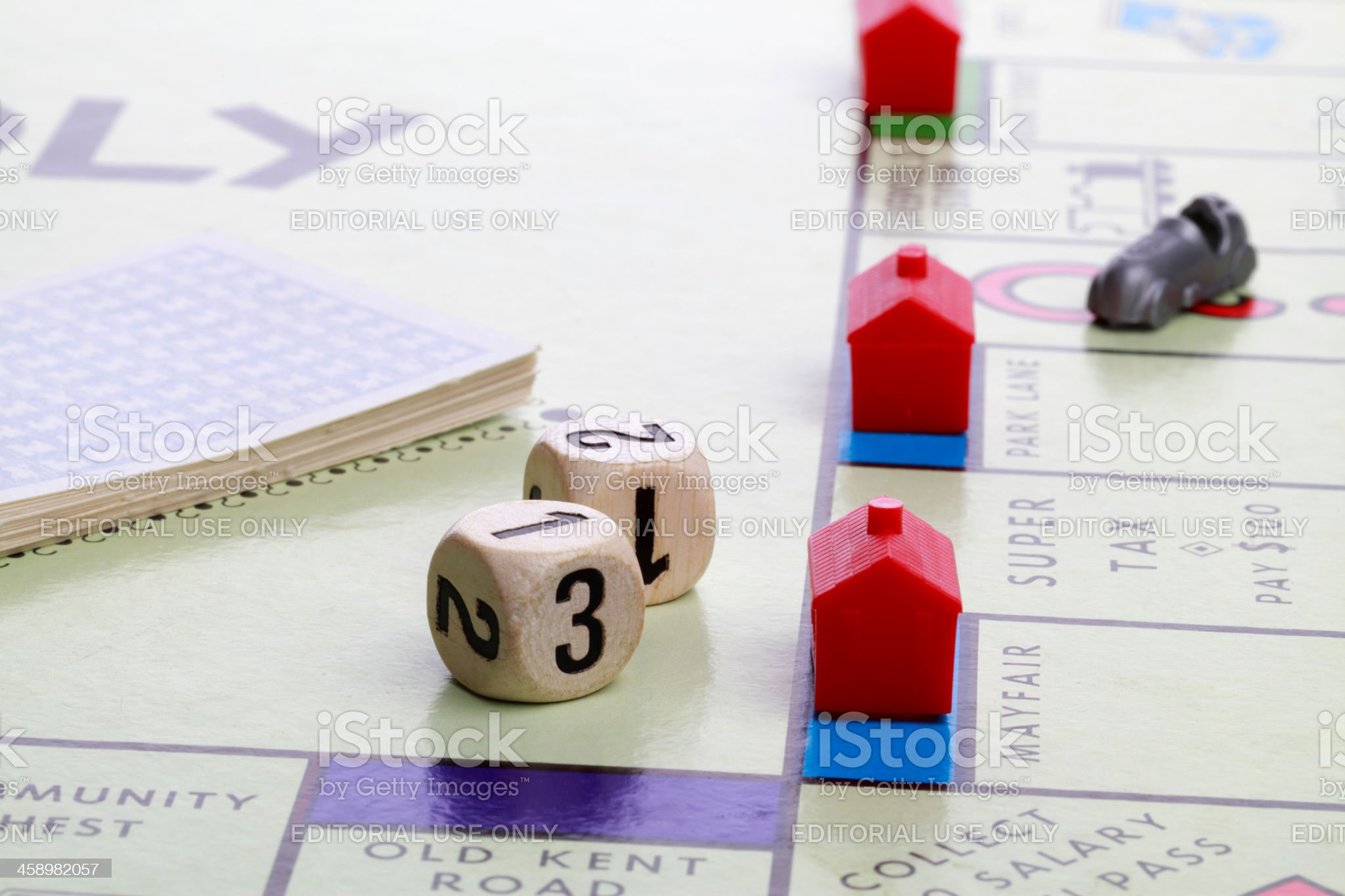 Roll of the Dice royalty-free stock photo