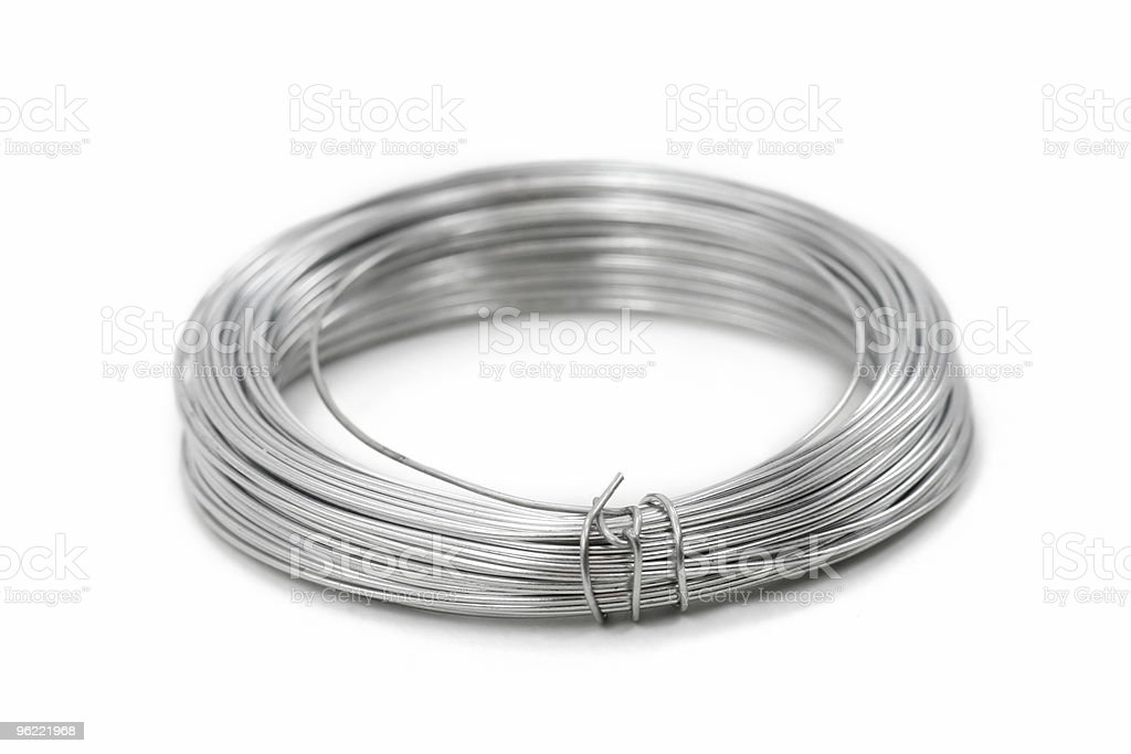 roll of wire royalty-free stock photo