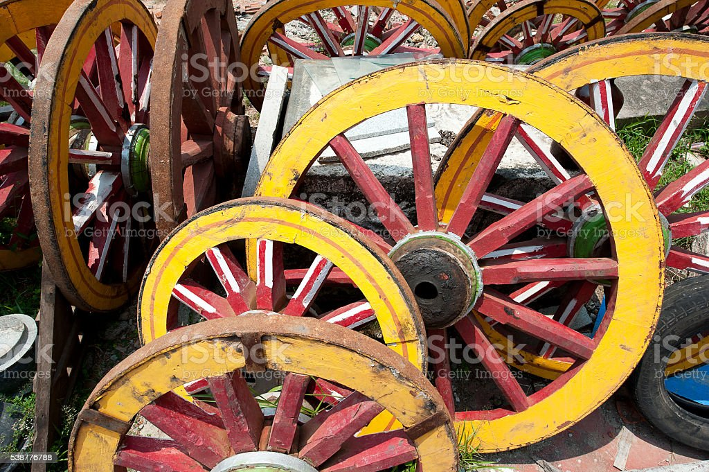 Roll on Fort Kochi - Cochin, India stock photo