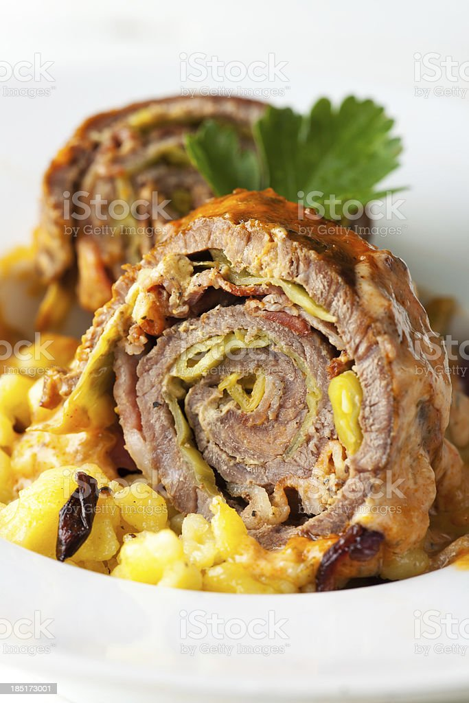 roulade royalty-free stock photo