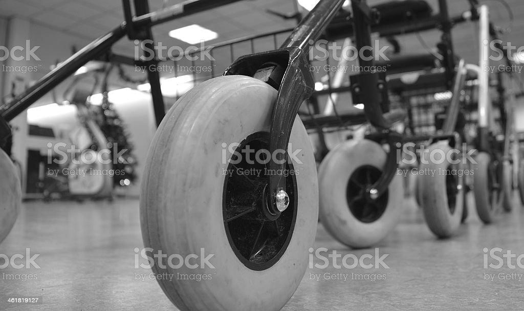 rollator stock photo
