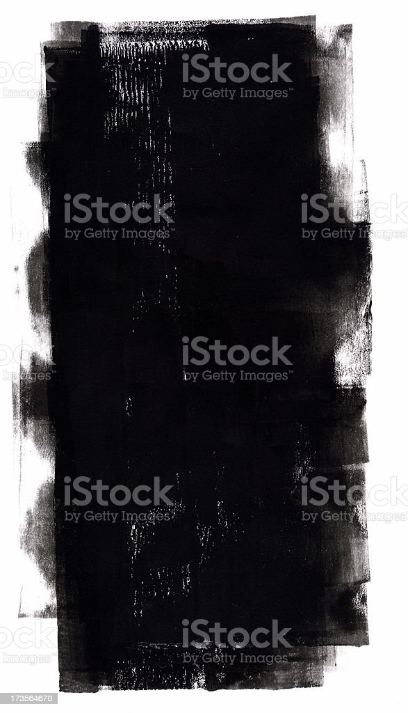 Rolled Ink 1 royalty-free stock photo