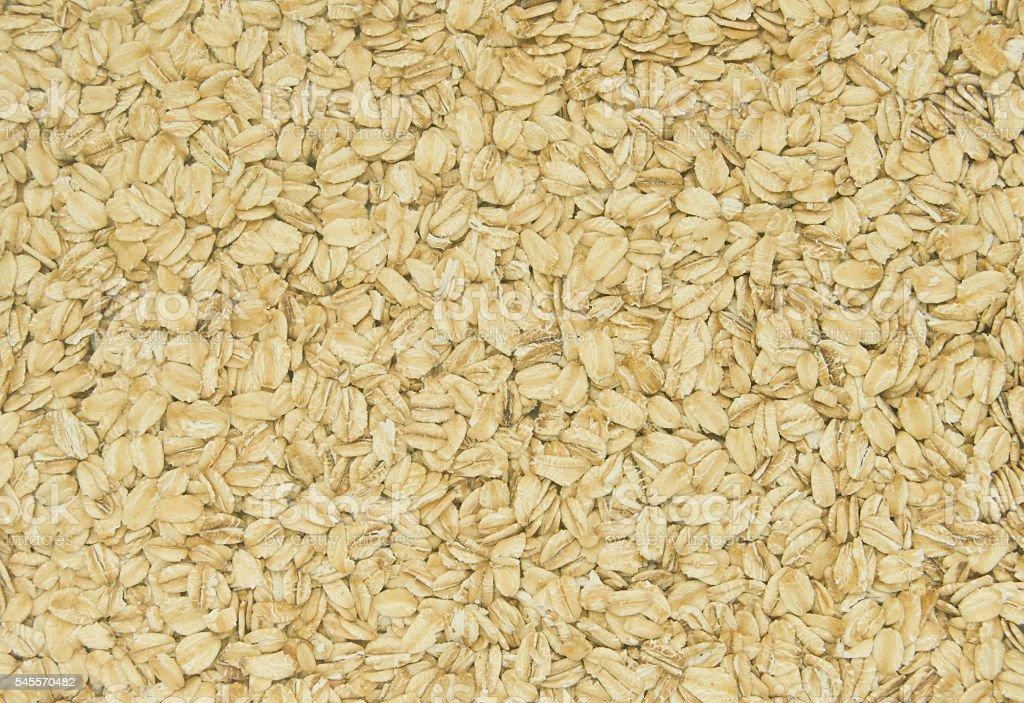 Rolled oats filling the frame foto de stock libre de derechos