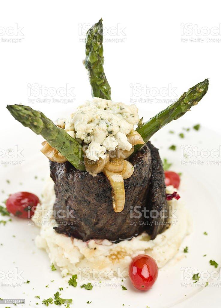 Rolled Skirt Steak (churrasco) royalty-free stock photo