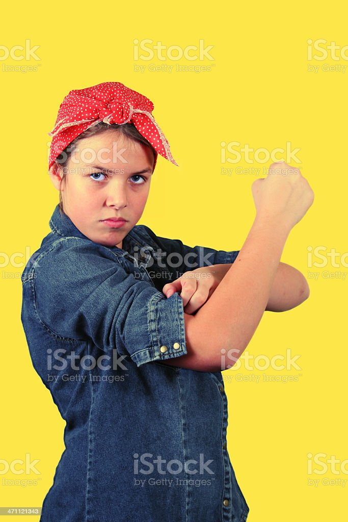 Rolled Up Sleeves royalty-free stock photo