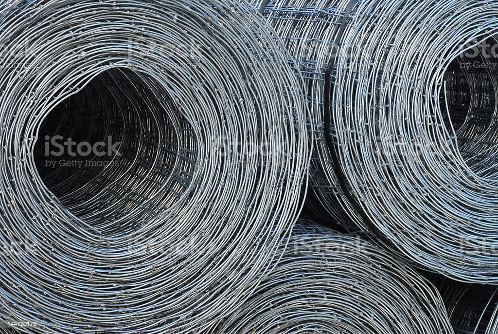 Rolled Wire royalty-free stock photo
