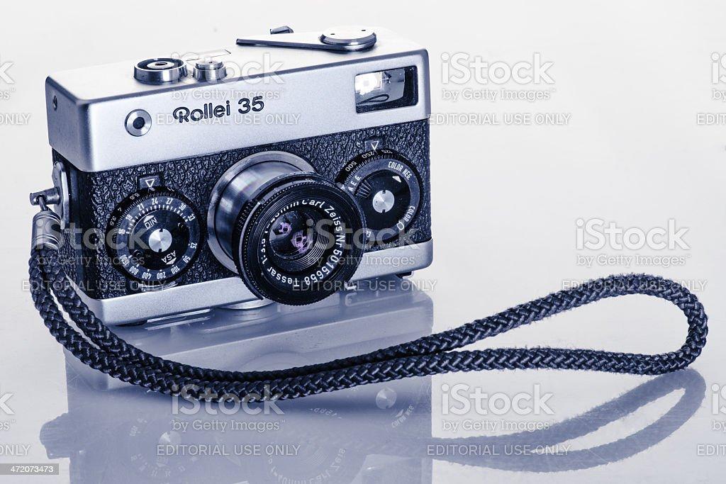 Rollei stock photo