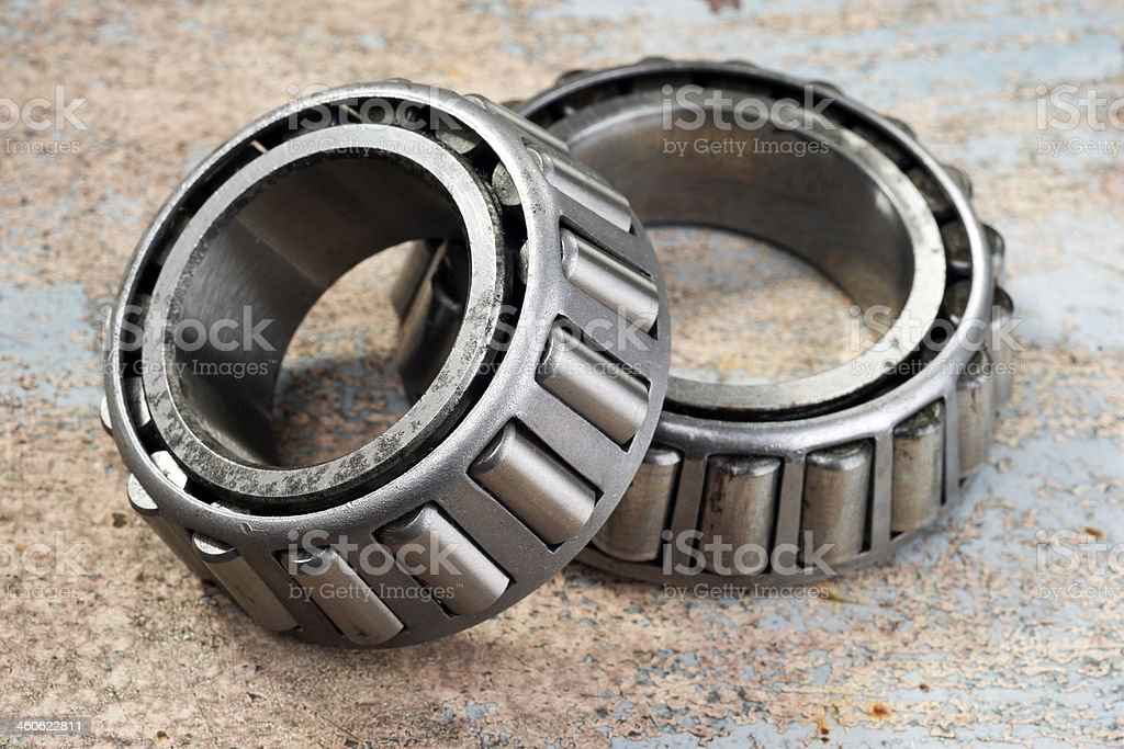 roller bearings stock photo