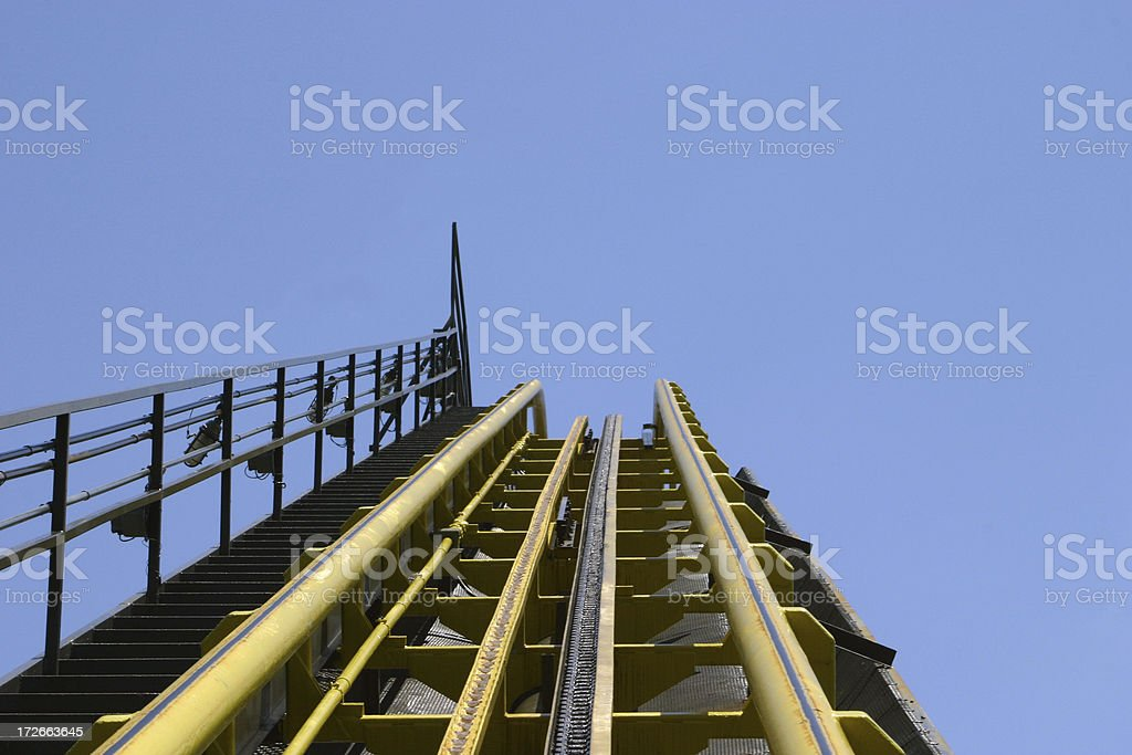 roller coaster 1 stock photo