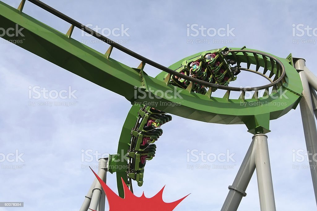 Roller Coaster Roll royalty-free stock photo