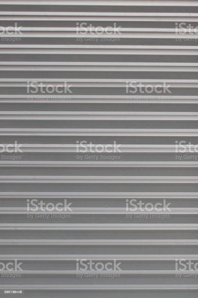 Roller shutter doors - grey background stock photo