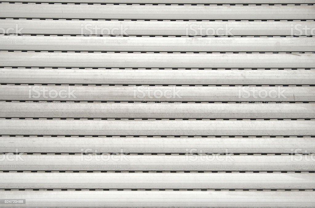Roller shutter texture stock photo